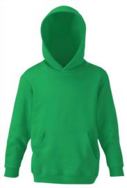 appelgroene hooded sweater