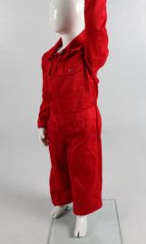 Kinderoverall rood
