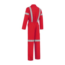 reflectie overall rood