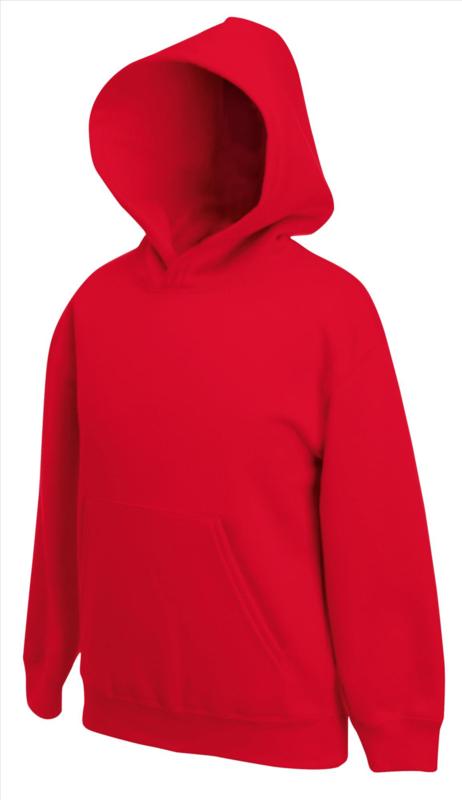 Hoodedsweater rood