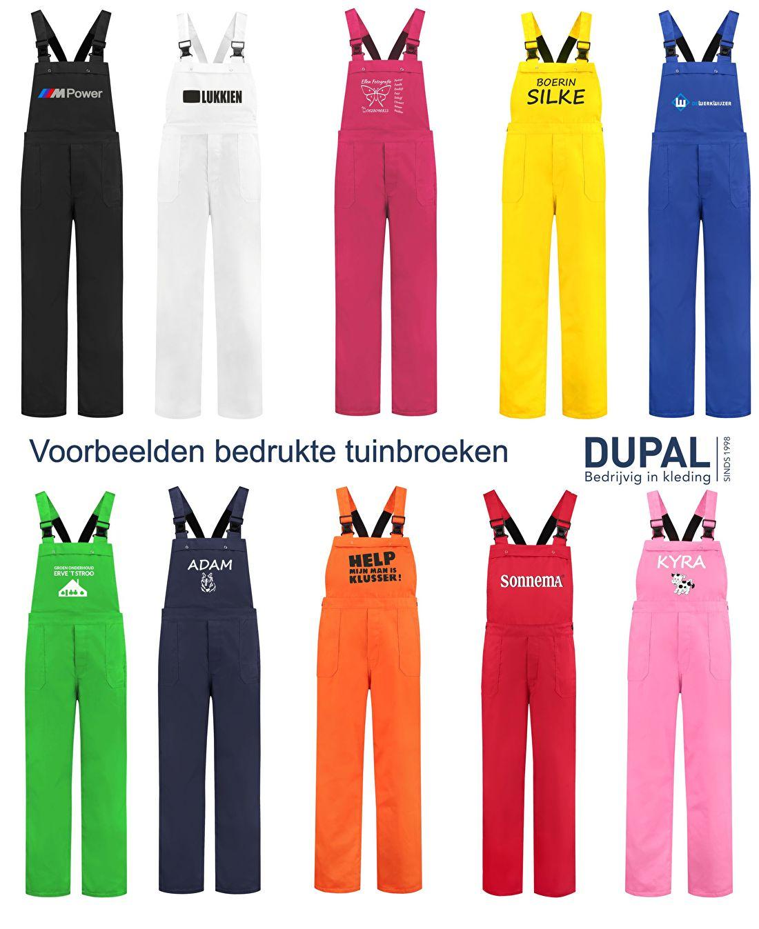 Welp TUINBROEKEN | Dupal Bedrijfskleding de overall-specialist FH-69