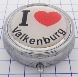 PIL_LI2.001pillendoosje met spiegel ik hou van Valkenburg