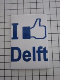 koelkastmagneet  Delft MAC:20.818