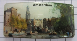 Haarspeld rechthoek HAR314 schilderij Amsterdam