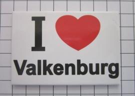 koelkastmagneet I ♥ Valkenburg N_LI2.001