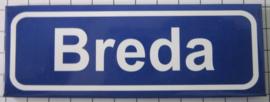 koelkastmagnee plaatsnaambord Breda P_NB4.0001