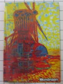 MAC:20.264 koelkastmagneet molen Piet Mondriaan