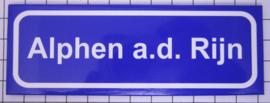 koelkastmagneet plaatsnaambord Alphen a.d. Rjin P_ZH12.0001