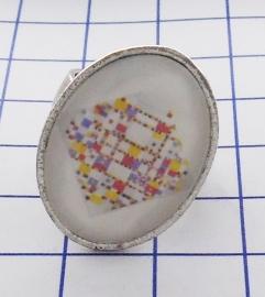 RIN 108 ring boogie woogie Piet Mondriaan