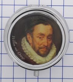 PIL517 pillendoosje Willem van Oranje ouder