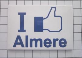 koelkastmagneet I like Almere N_FL1.001