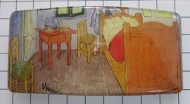 Haarspeld rechthoek HAR405 kamer Vincent van Gogh