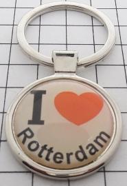 SLE_ZH1.001 Sleutelhanger I love Rotterdam