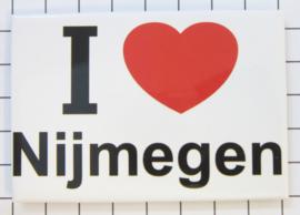 koelkastmagneet I ♥ Nijmegen N_GE1.001