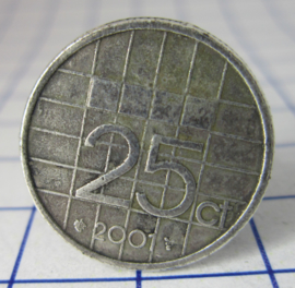 ring 25cent 2001