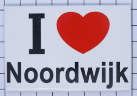koelkastmagneet I ♥ Noordwijk N_ZH10.002