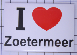 koelkastmagneet I ♥  Zoetermeer N_ZH13.001