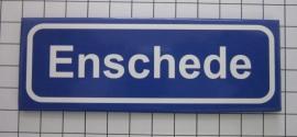koelkastmagneet plaatsnaambord  Enschede P_OV1.0001