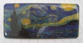 HAR 204 Haarspeld rechthoek sterrennacht Vincent van Gogh