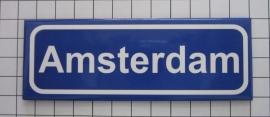 koelkastmagneet plaatsnaambord kombord Amsterdam 21.027