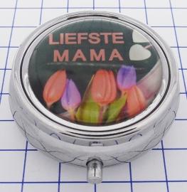 PIL 094 pillendoosje met spiegel liefste mama