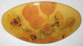 HAO 203 Vincent van Gogh zonnebloemen haarspeld
