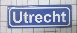 koelkastmagneet plaatsnaambord Utrecht P_UT1.0001