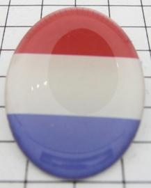 BRO 409 Broche Nederlandse vlag
