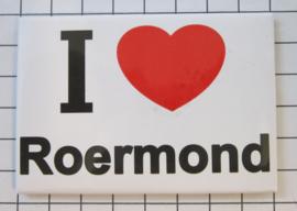 koelkastmagneet  I Love Roermond  N_LI6.001