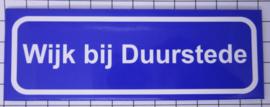 koelkastmagneet plaaatsnaambord Wijk Bij Duurstede P_UT4.0001