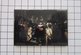 koelkastmagneet MAC:20.503 nachtwacht Rembrandt