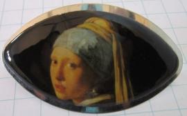 HAK 208 kleine haarspeld meisje parel van Johannes Vermeer