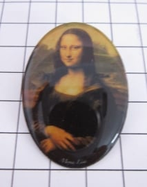 BRO 902 broche Mona Lisa
