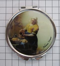 SPI 210 spiegeldoosje melkmeisje Vermeer