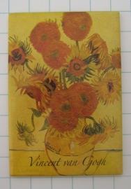 MAC: 20.401 Koelkastmagneet oude zonnebloemen Vincent van Gogh