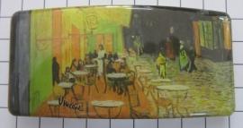 Haarspeld rechthoek 8 cm HAR404 cafe Vincent van Gogh