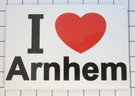 koelkastmagneet I ♥ Arnhem N_GE2.001
