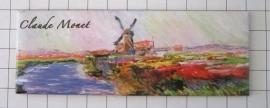 koelkastmagneet Molen Claude Monet Mac21.221