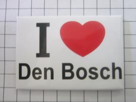 koelkastmagnee I ♥ Den bosch N_NB3.001