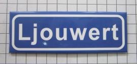 koelkastmagneet plaatsnaambord Ljouwert P_FR2.5001