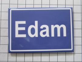 koelkastmagneet plaatsnaambord Edam N_NH3.503