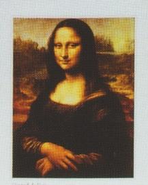 pak 50 stuks Kwaliteitsposters 35 x 45 cm  Mona Lisa - Leonardo da Vinci