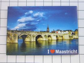 koelkastmagneet I love Maastricht  N_LI1.007