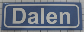 Koelkastmagneet plaatsnaambord Dalen