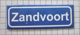 koelkastmagneet plaatsnaambord Zandvoort P_NH8.5001