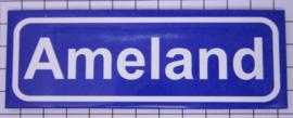 koelkastmagneet plaatsnaambord Ameland P_FR9.0001