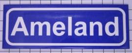koelkastmagneet plaaatsnaambord Ameland P_FR9.0001