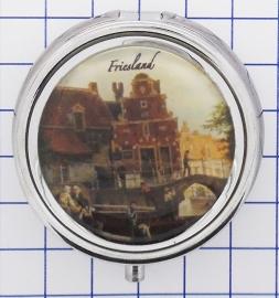 PIL_FR1.005 pillendoosje met spiegel Friesland