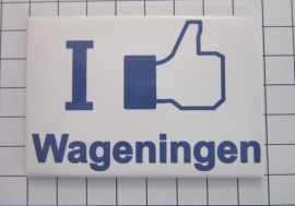 koelkastmagneet I like Wageningen N_GE3.002