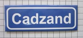 koelkastmagneet plaatsnaambord Cadzand P_ZE3.5001